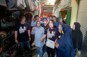 Jelang Penentuan Bupati Lamongan, Artis Ibu Kota Blusukan ke Pasar Tradisional