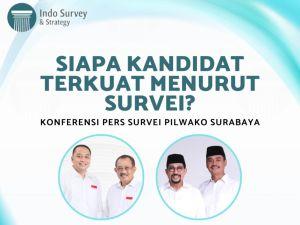 Indo Survey & Strategi Unggulkan Eri Cahyadi Dengan Elektabilitas 47,95 Persen