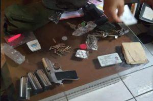 Mobil Mewah Bos Tekstil Diberondong Tembakan, Begini Penampakan Pistol Pelaku