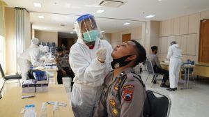 Bertugas Amankan Pilkada di DIY, 665 Polisi Dirapid Test