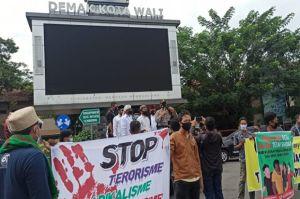 Tak Berizin, Demo Tolak Habib Rizieq di Demak Dibubarkan Polisi