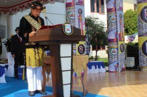 Upacara Peringati HUT ke-21 Morowali, Bupati Paparkan Capaian Pembangunan