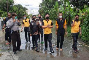 Kapolresta Pematangsiantar Distribusikan Sembako untuk Warga Terdampak Banjir