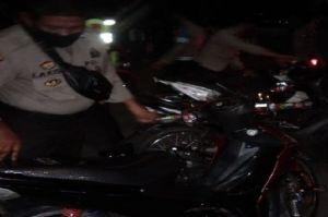 Pelaku Balap Liar Kocar Kacir Dibubarkan Polisi, Belasan Motor Diamankan
