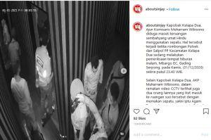 Viral Polisi di Tangerang Masuk Tempat Sembahyang Pakai Sepatu, Begini Kronologisnya
