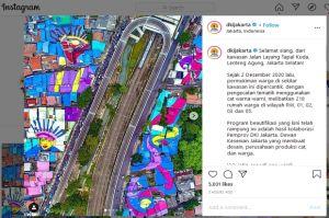 Pemprov DKI Pamer Cantiknya Flyover Lenteng Agung, Warganet: Peresmiannya Kapan?