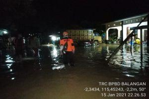 Banjir Rendam 3.000 Rumah Lebih di Kabupaten Balangan Kalimatan Selatan