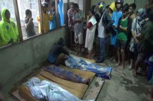 Tertidur di Kamar, Ayah-Ibu dan Anak di Manado Tewas Tertimbun Longsor