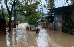 Lima Tewas Akibat Banjir dan Tanah Longsor di Kota Manado