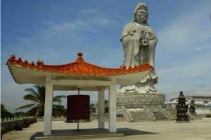 Patung Dewi Kwan Im Tertinggi di Asia Tenggara, Pesona Wisata Religi di Pematangsiantar