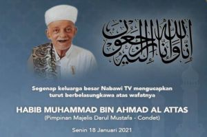 Habib Muhammad Al-Attas Wafat Usai Resmikan Masjid Baalawi Aceh Timur