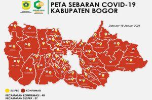 Lengkap 40 Kecamatan, Selamat Datang di Zona Merah Kabupaten Bogor