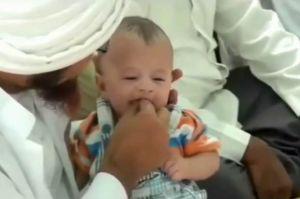 Anjuran Tahnik untuk Bayi Baru Lahir