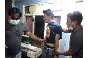 Pengedar Narkoba di Penjaringan Digelandang Polisi