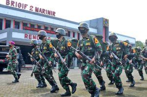 25 Taruna AAL Tiba di Sarang Petarung, Ini Pesan Komandan Brigif 2 Marinir