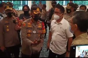 Wakapolres Metro Jakarta Pusat Sidak Lokasi Konpers Tim Advokasi Enam Laskar FPI
