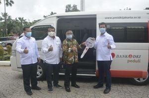 Bank DKI Hibahkan Mobil Unit Donor Darah kepada PMI DKI Jakarta