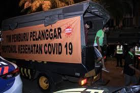Sembilan Hari PPKM, Polda Jatim Jaring 1.216.236 Pelanggar Prokes