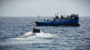 KRI Usman Harun Tangkap Kapal Pencuri Ikan Berbendera Taiwan, Berisi 12 Ton Ikan
