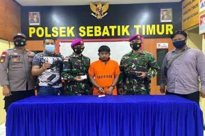 Edarkan Sabu di Perbatasan Indonesia-Malaysia, Pria Ini Tak Berkutik Diringkus Marinir