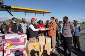 Mensos Risma Pastikan Kebutuhan Makanan dan Logistik Korban Banjir Paniai Terpenuhi