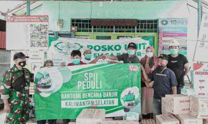PT SPIL Salurkan Bantuan Bencana ke Kalsel dan Sulbar
