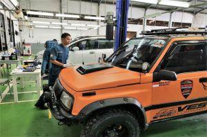 Suzuki Berikan Service Gratis untuk Korban Banjir Kalsel