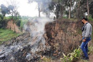 Penyebab Ledakan Dahsyat Masih Msiterius, Polres Mojokerto Tunggu Hasil Labfor