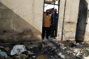 Marten A. Taha Pastikan Rumah Korban Kebakaran Segera Dibangun Sebelum Ramadan