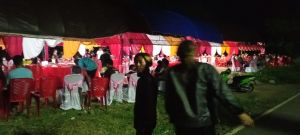 Polisi Bubarkan Pesta Pernikahan di Kota Bitung