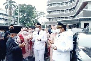 Jeje Wiradinata-Ujang Endin Indrawan Dilantik jadi Bupati dan Wakil Bupati Pangandaran