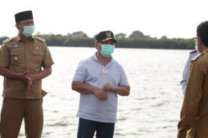 Gubernur Kalteng Tinjau Infrastruktur Pelabuhan, Jalan, dan Pantai di Sukamara