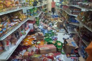 Gempa M5,2 di Halmahera Selatan, Minimarket Porak Poranda, Pasien RSUD Dievakuasi