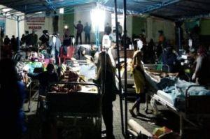 Usai Diguncang Gempa M5,2, Pasien RSUD Labuha Terpaksa Dirawat di Tenda Darurat
