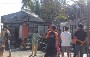 Dua Rumah dan Satu Mobil Hangus Terbakar di Padangsidimpuan