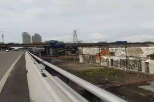 Polisi Amankan Pemuda yang Lakukan Aksi Salto di Jembatan Layang Kemayoran