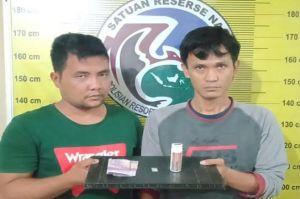 Transaksi Narkoba, 2 Warga Padangsidimpuan Ditangkap