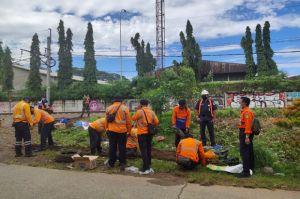 PT KAI Daop 1 Jakarta Lakukan Penertiban Petak Rel Nambo-Cibinong