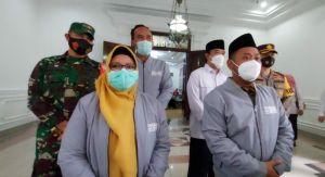 Launching Program Kerja 99 Hari, Bupati Gresik Ajak Masyarakat Jadi Pahlawan COVID-19