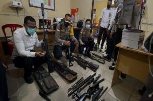 Kembangkan Kasus Penemuan Senjata M16 dan Pistol, Polres Merauke Sita 1 Senapan Rakitan