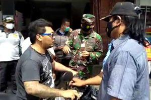 Melawan Petugas, Pria Ngaku Anak TNI Tidak Percaya COVID-19 Dilaporkan ke Polisi