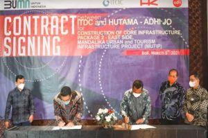 Pengembangan Infrastruktur Dasar Area Timur KEK Mandalika Telan Rp1,7 Triliun