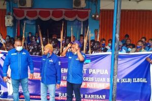 Siap Perang dan Melawan, Demokrat Papua Nyatakan KLB Deliserdang Abal-abal