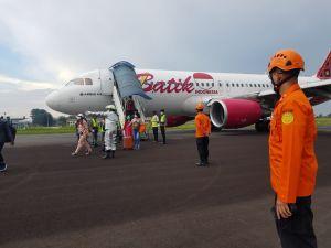 20 Menit Mengudara, Batik Air Mendarat Darurat di Bandara Sultan Thaha Jambi