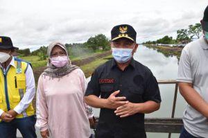 Gubernur Kalteng Tinjau Saluran Irigasi di Kabupaten Kapuas