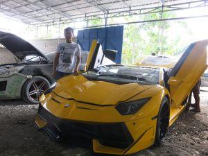 Suharyanto, pemilik bengkel modifikasi High Class Auto di Gunung Kidul yang viral karena Lamborghini Gunung Kidul punya cerita menarik saat memulai bisnis modifikasi. Seperti apa?