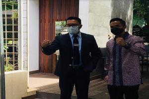 Gelar Pertemuan Khusus, Ridwan Kamil Dukung Anindya Bakrie Jadi Ketum Kadin
