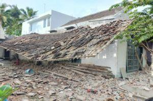 Rata dengan Tanah, Ini Penampakan Rumah di Wonoagung Pasca Gempa Malang