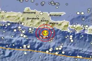 Minggu Pagi Gempa Bermagnitudo 5,5 Kembali Mengguncang Malang, Warga Berhamburan