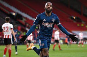 Arsenal Bungkam Sheffield United, Lacazette Cetak Rekor Manis